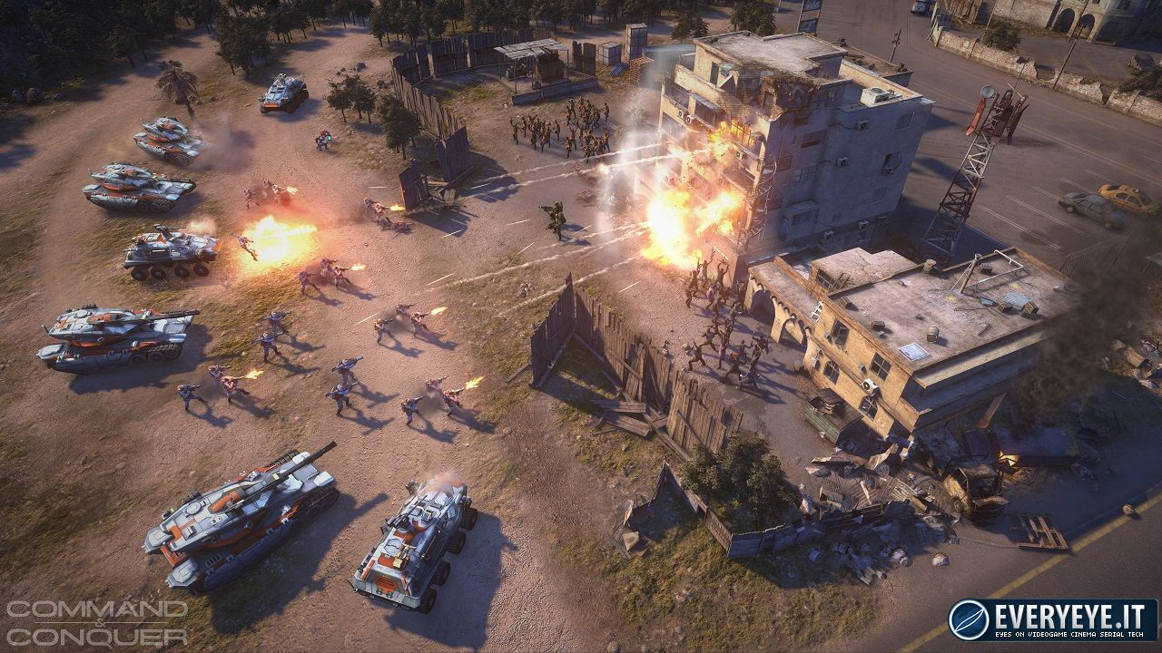 hands on Command & Conquer