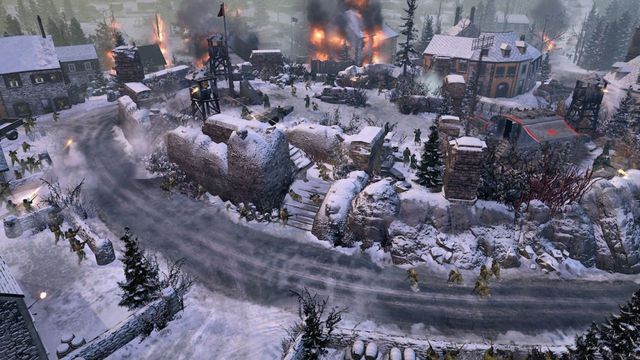 recensione Company of Heroes 2: Ardennes Assault