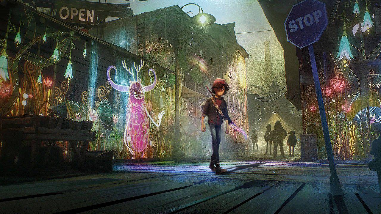 speciale Concrete Genie in realtà virtuale: dipingere con PlayStation VR