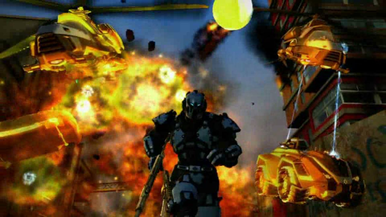 hands on Crackdown 2