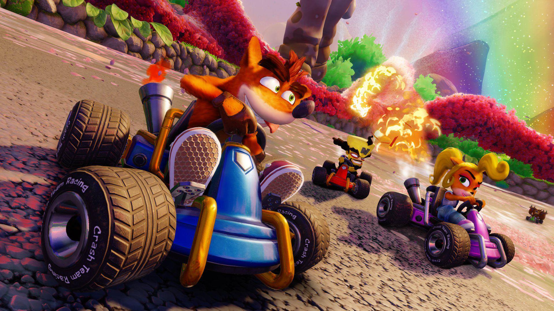 Crash Team Racing Nitro Fueled Recensione: CTR mette il