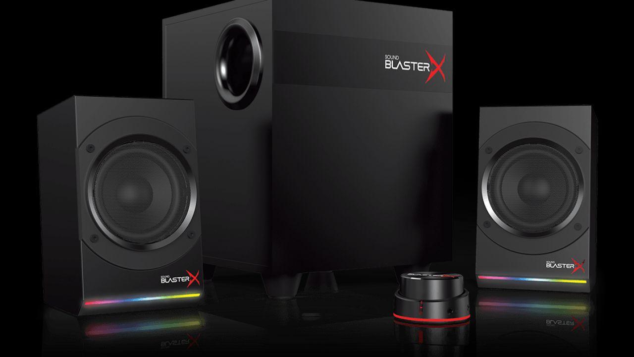 recensione Creative Sound BlasterX Kratos S5: kit 2.1 dall'ottimo rapporto qualità prezzo