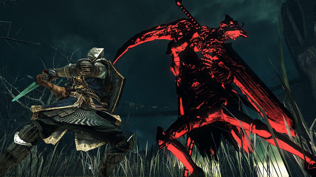 hands on Dark Souls 2