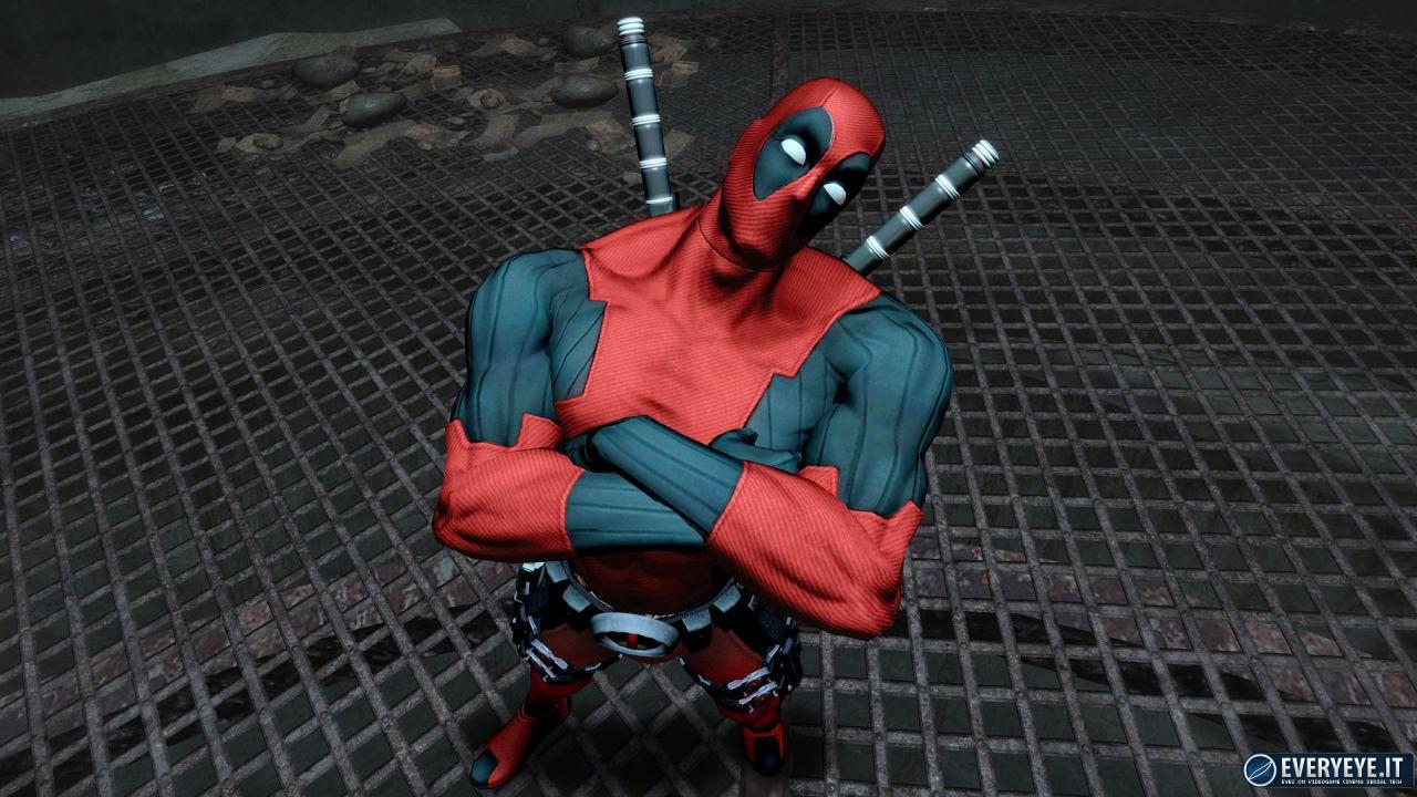 hands on Deadpool