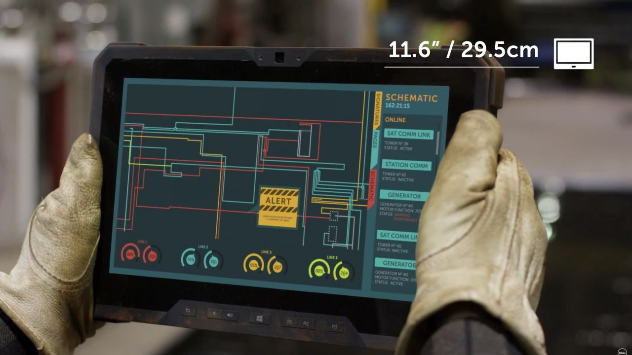 anteprima Dell Latitude 12 Rugged Tablet