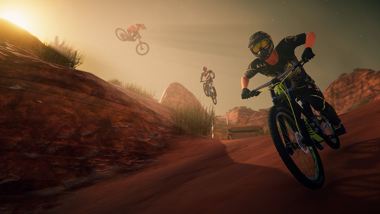 recensione Descenders Recensione: tutti in Mountain Bike, su Nintendo Switch
