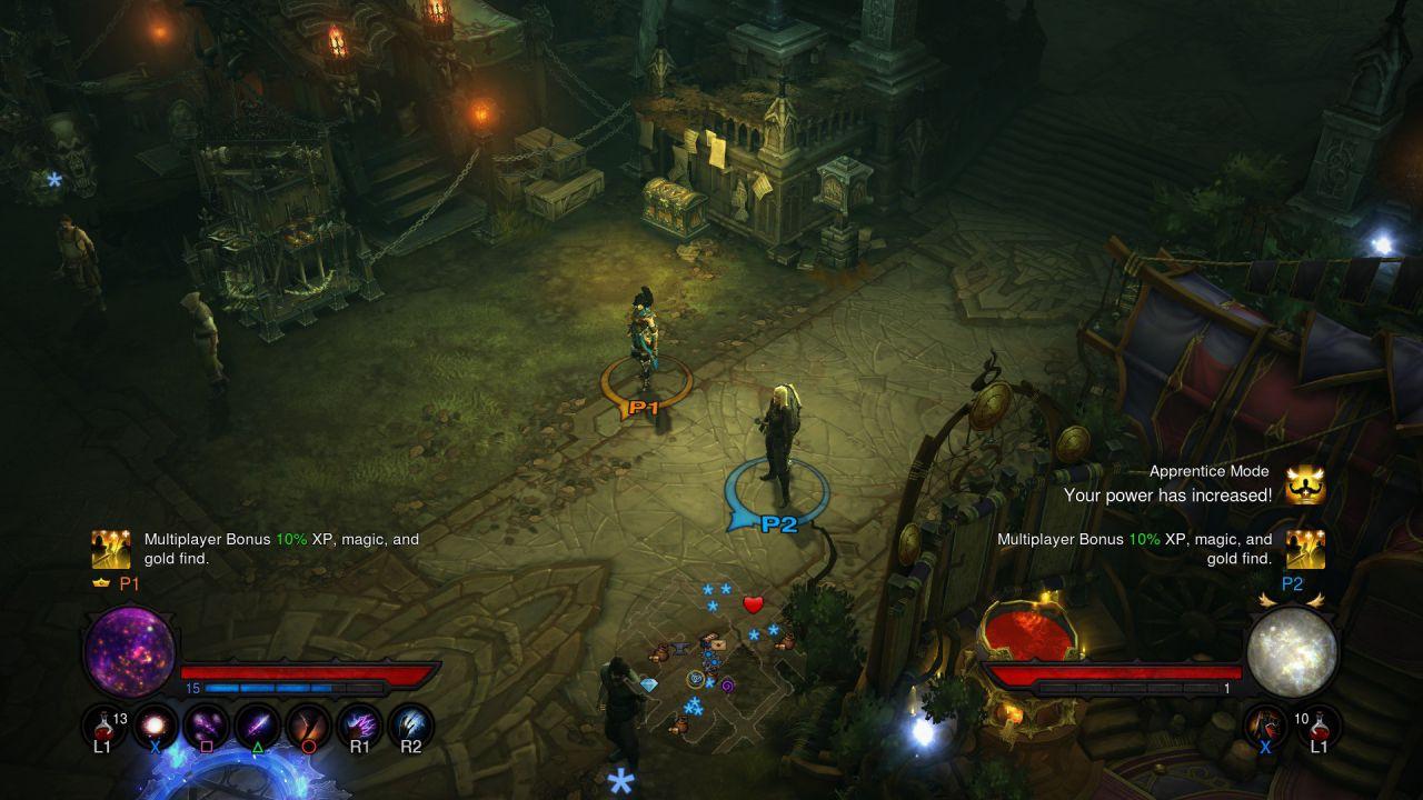 hands on Diablo III