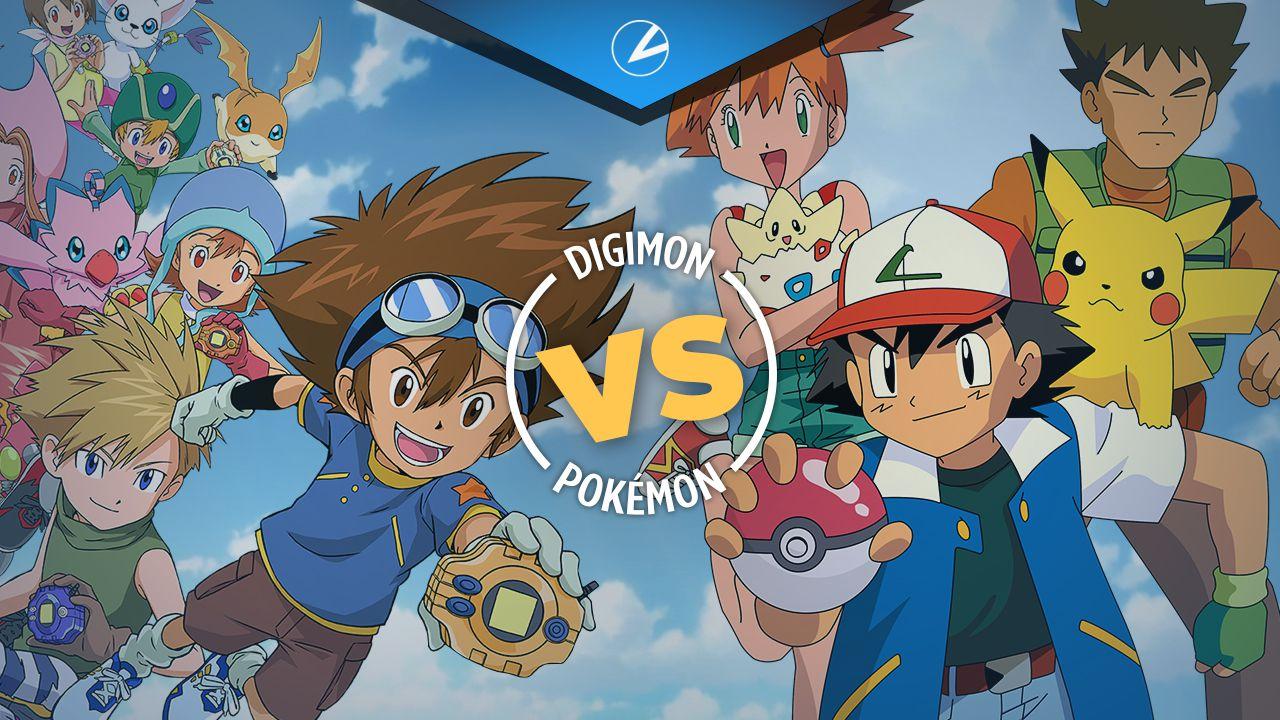 Digimon vs Pokémon: differenze tra i due franchise, un eterno scontro?