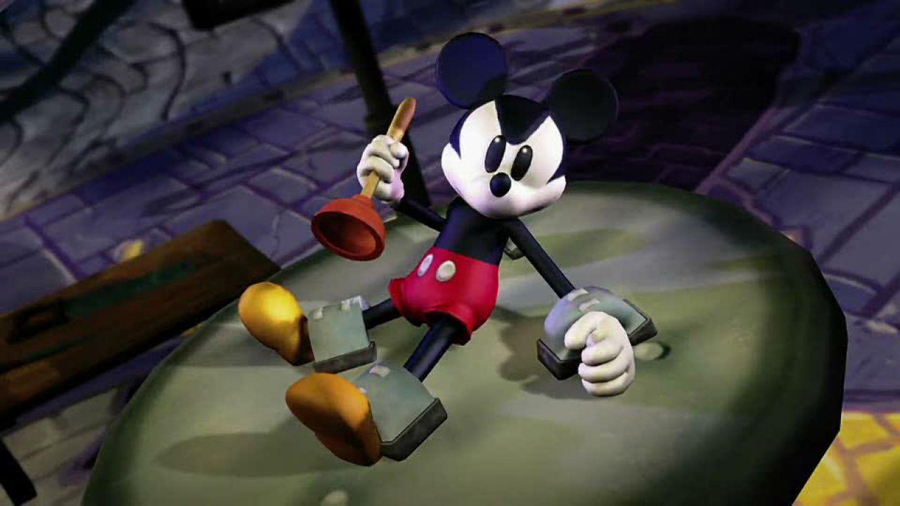 hands on Disney Epic Mickey