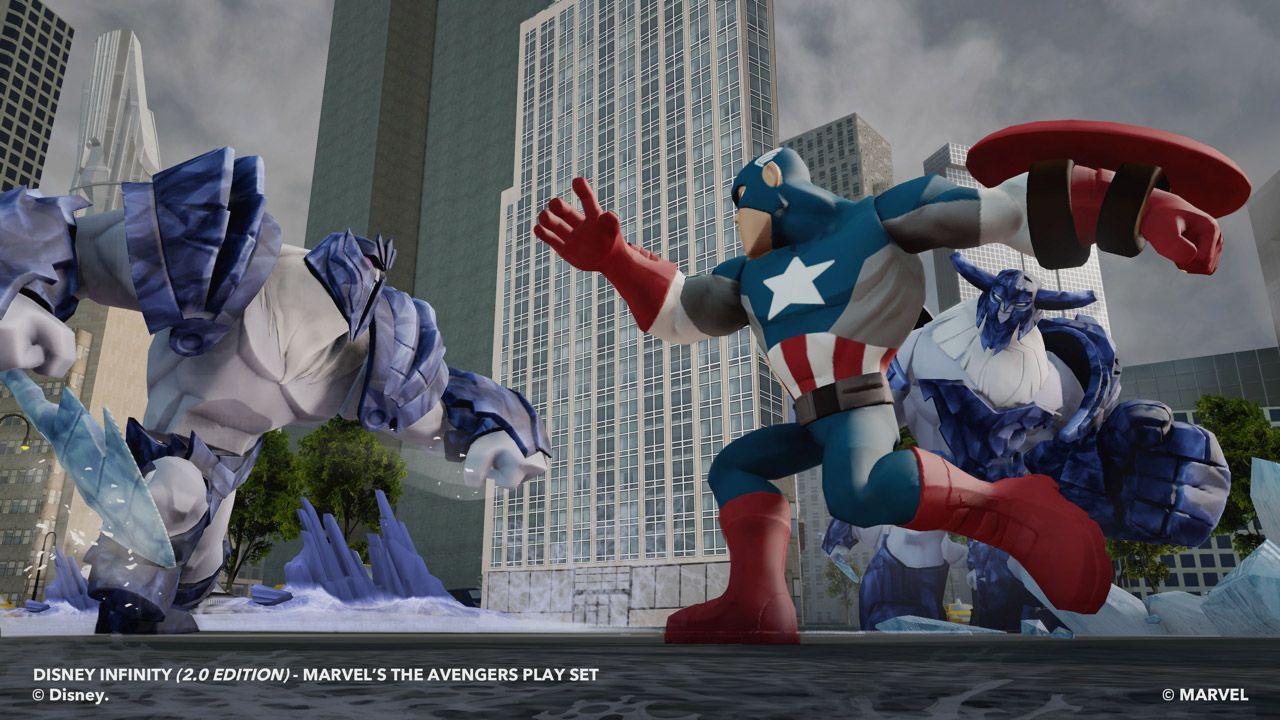 anteprima Disney Infinity 2.0: Marvel Super Heroes
