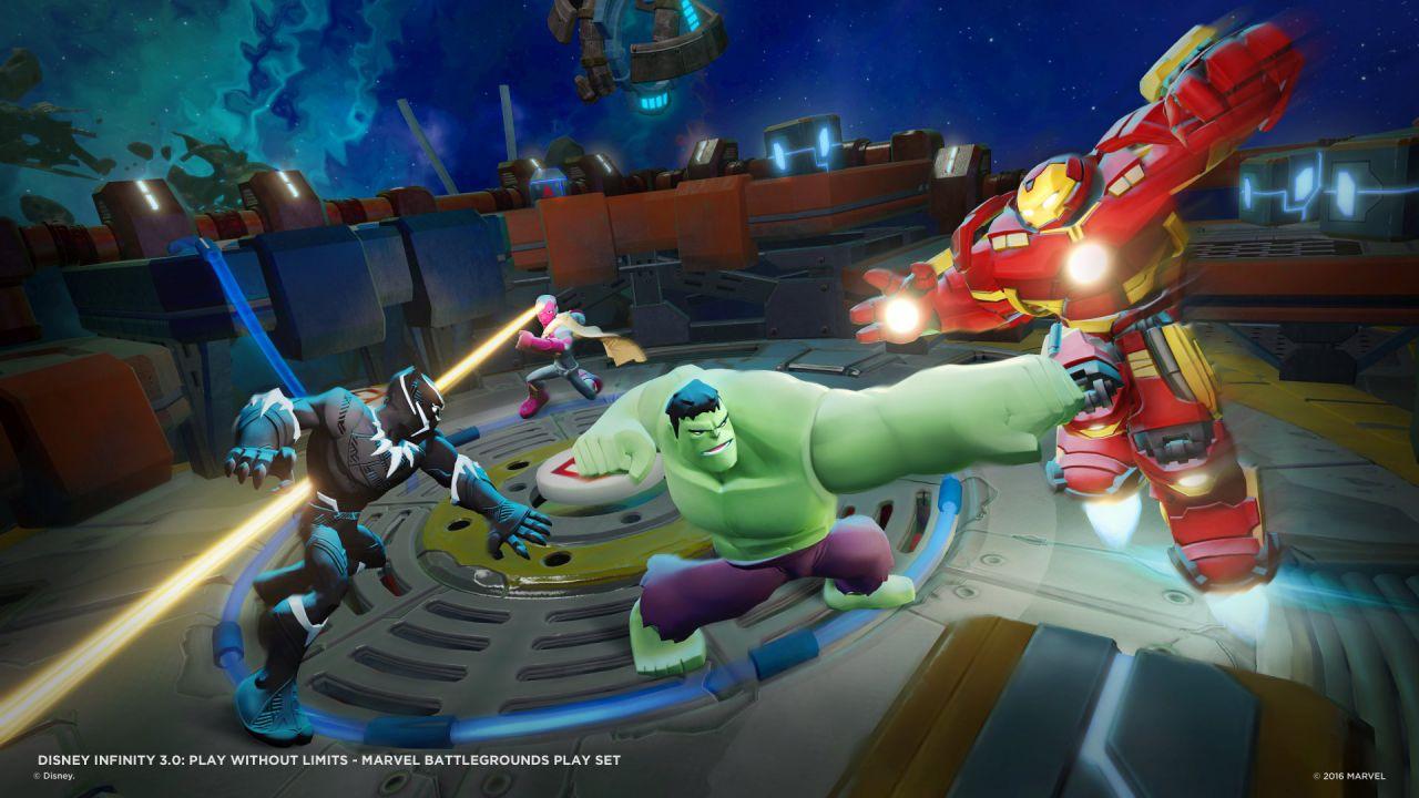 recensione Disney Infinity 3.0 - Marvel Battlegrounds