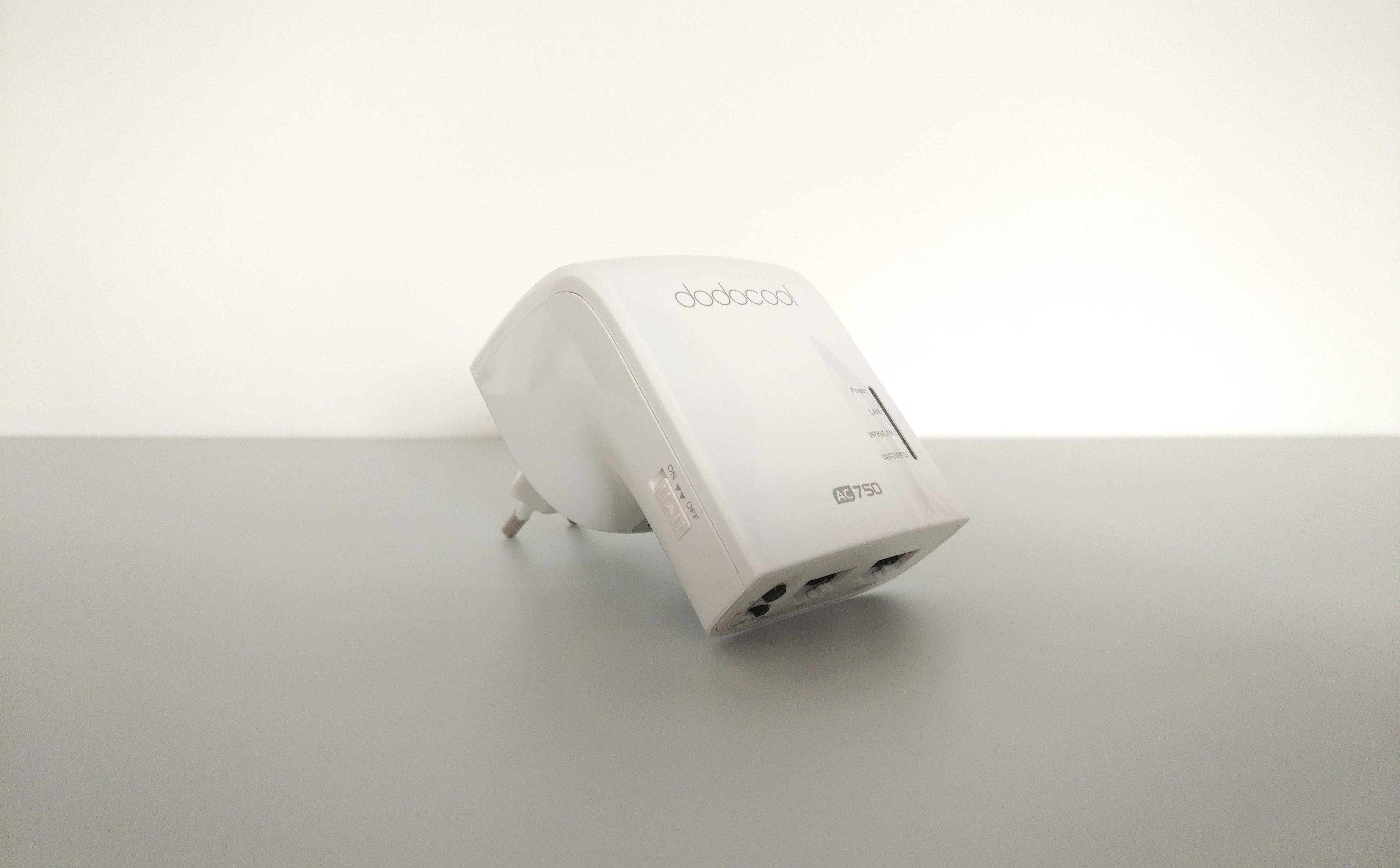 Dodocool DC24: la prova del WiFi repeater dual band low cost