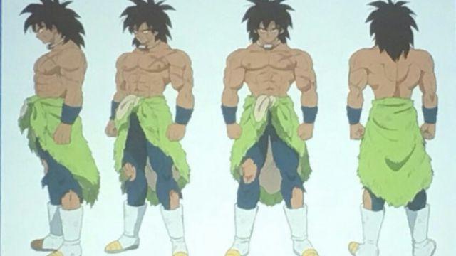 Dragon Ball Super: Broly, considerazioni sul design finale del SSJ leggendario