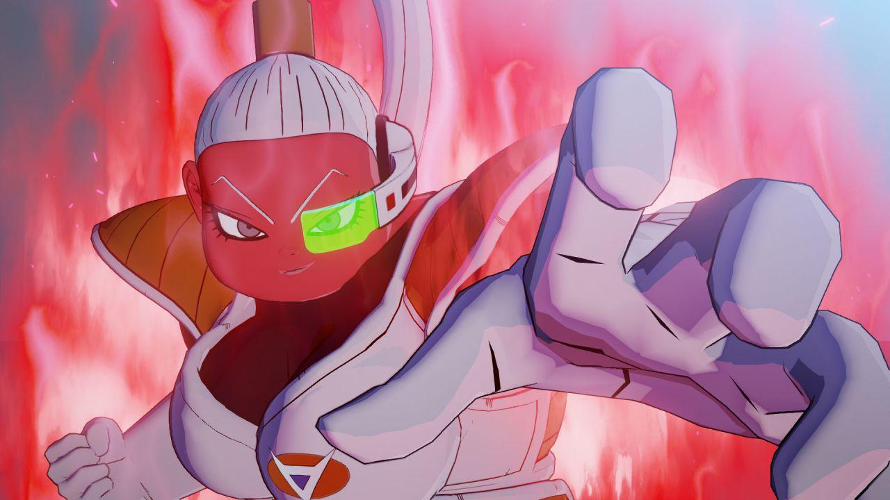 speciale Dragon Ball Z Kakarot: scopriamo Bonyu, membro segreto della Squadra Ginew