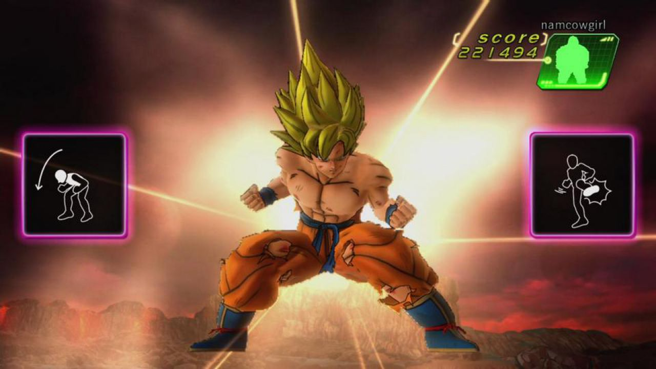 hands on Dragon Ball Z Kinect