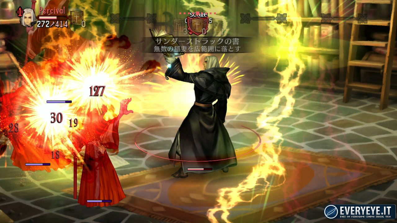 hands on Dragon's Crown