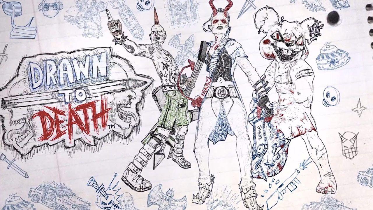 anteprima Drawn to Death