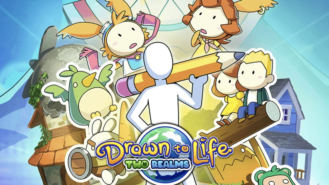 recensione Drawn to Life Two Realms Recensione: due mondi per una grande avventura