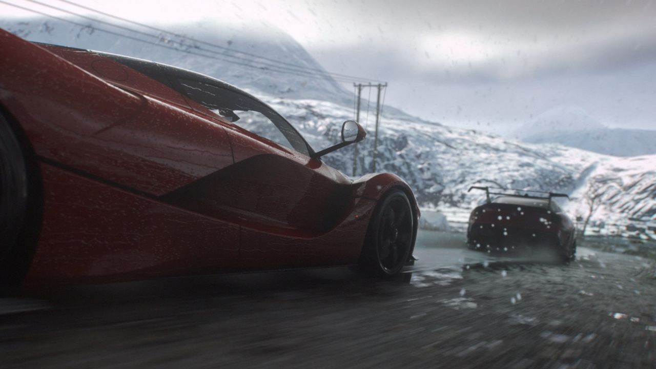 hands on DriveClub
