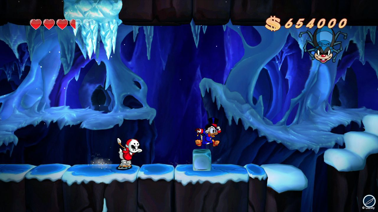 hands on Duck Tales Remastered