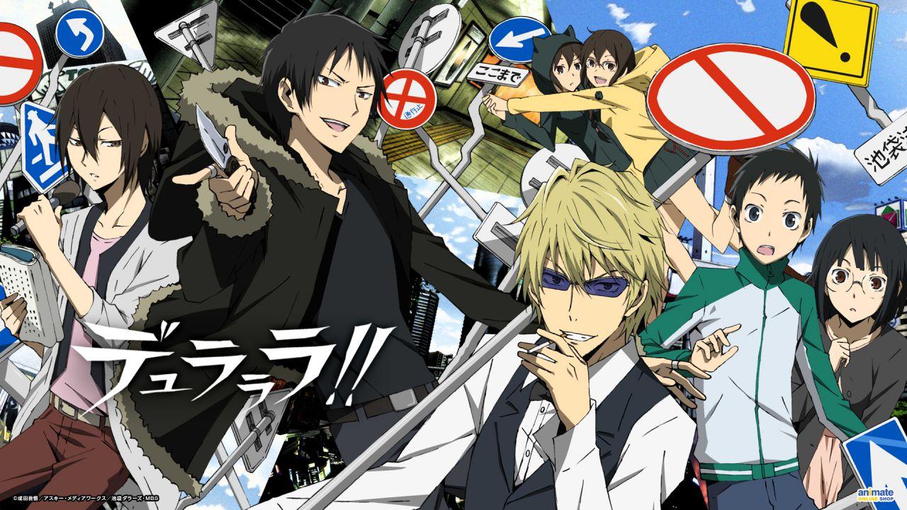 Durarara!!X2: impressioni preliminari sul nuovo anime di Netflix