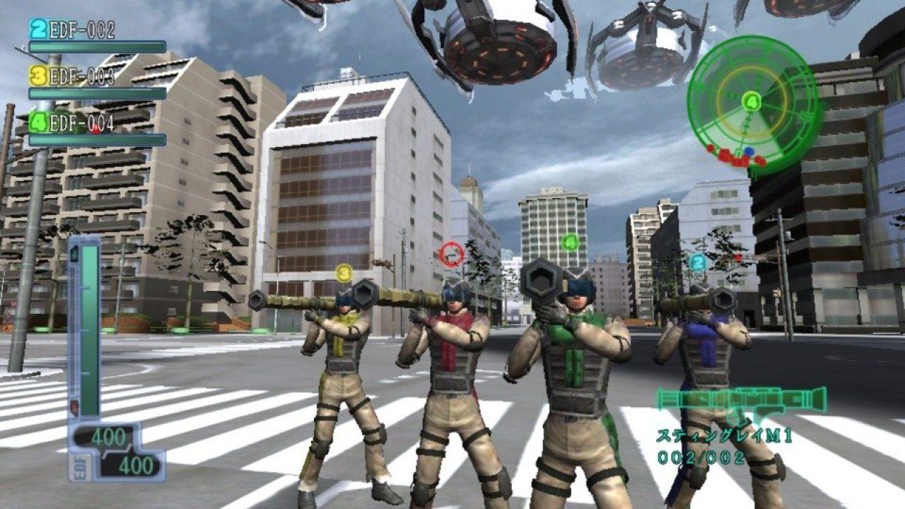 recensione Earth Defense Force 2017 Portable