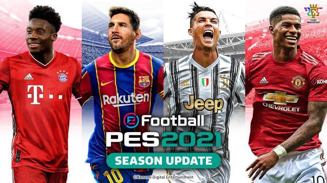 eFootball PES 2021 Recensione: squadra che vince non si cambia