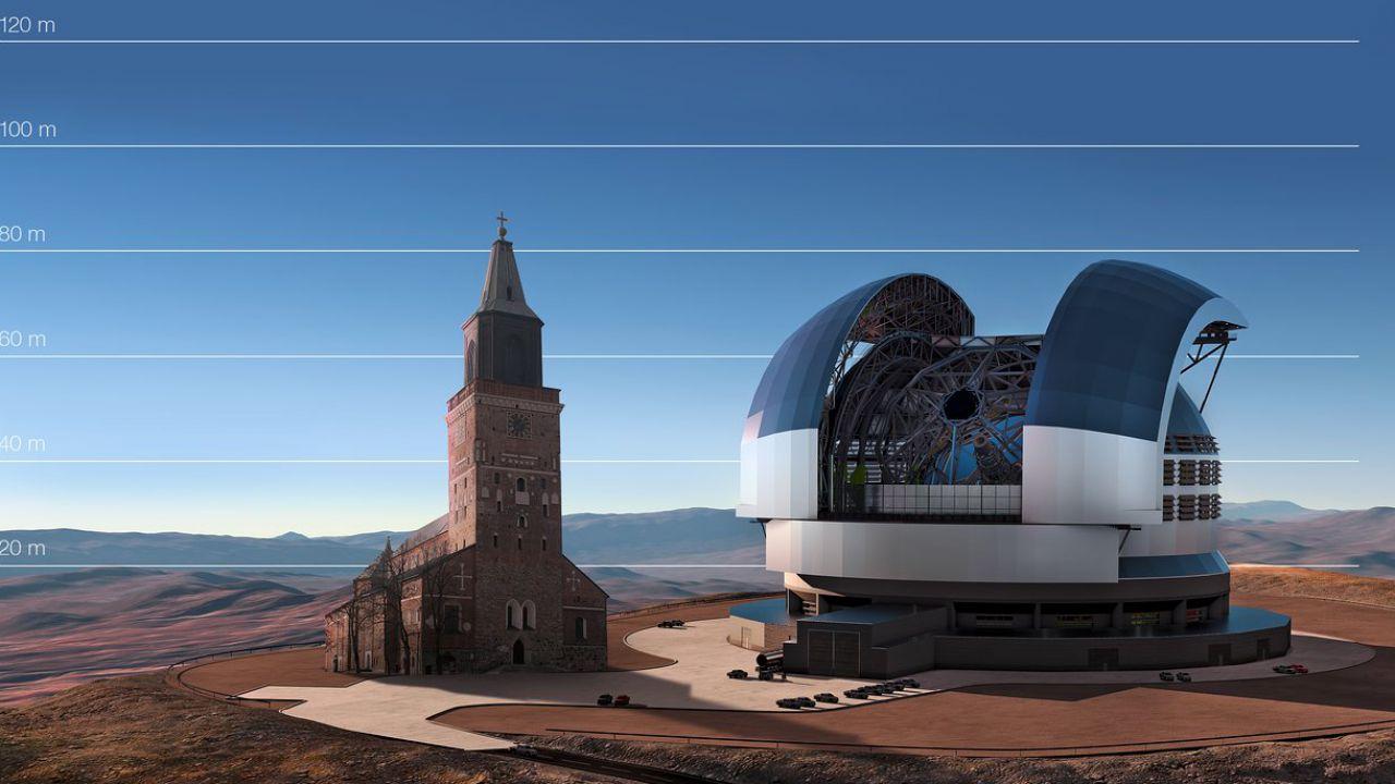 speciale ELT sarà il telescopio ottico terrestre più grande che sia mai stato costruito