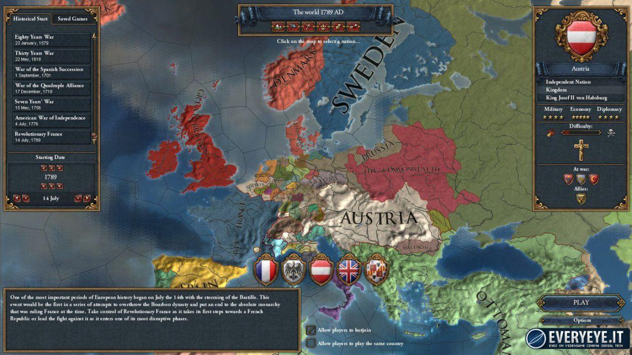 provato Europa Universalis IV - El Dorado