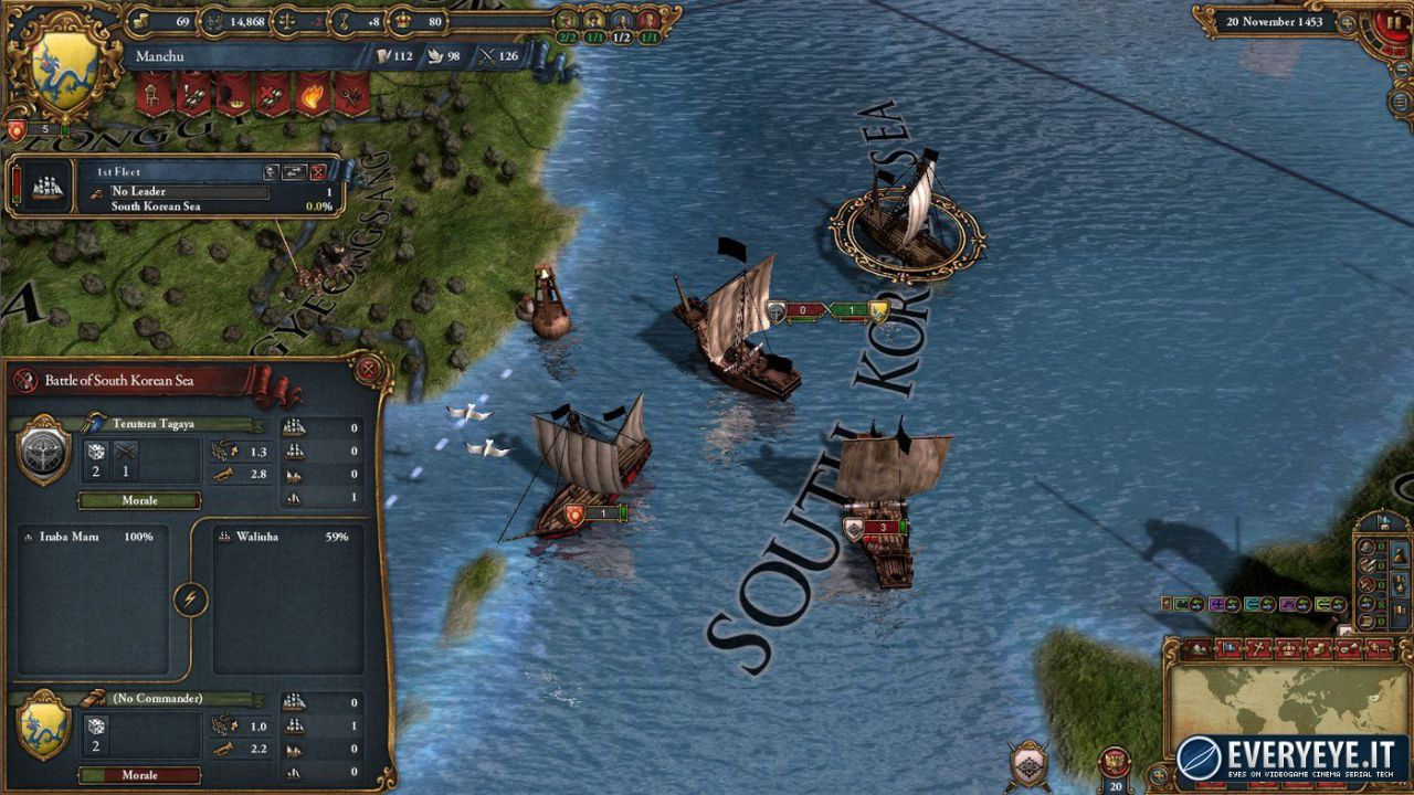 hands on Europa Universalis IV