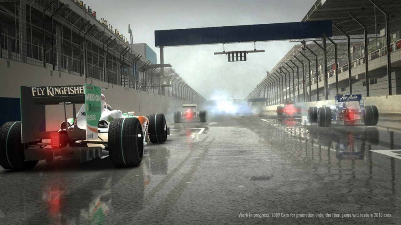 hands on F1 2010