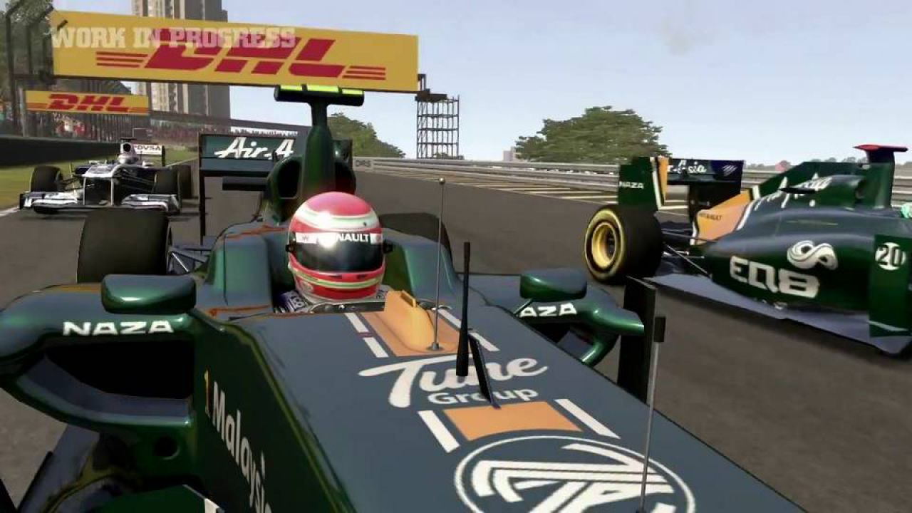 hands on F1 2011