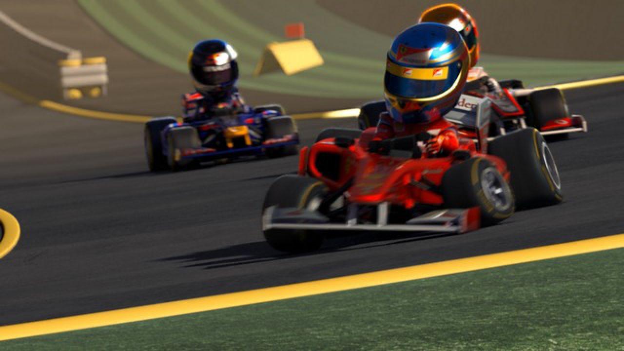 recensione F1 Race Stars
