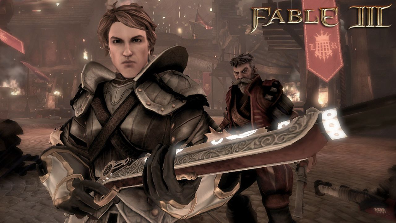 hands on Fable 3