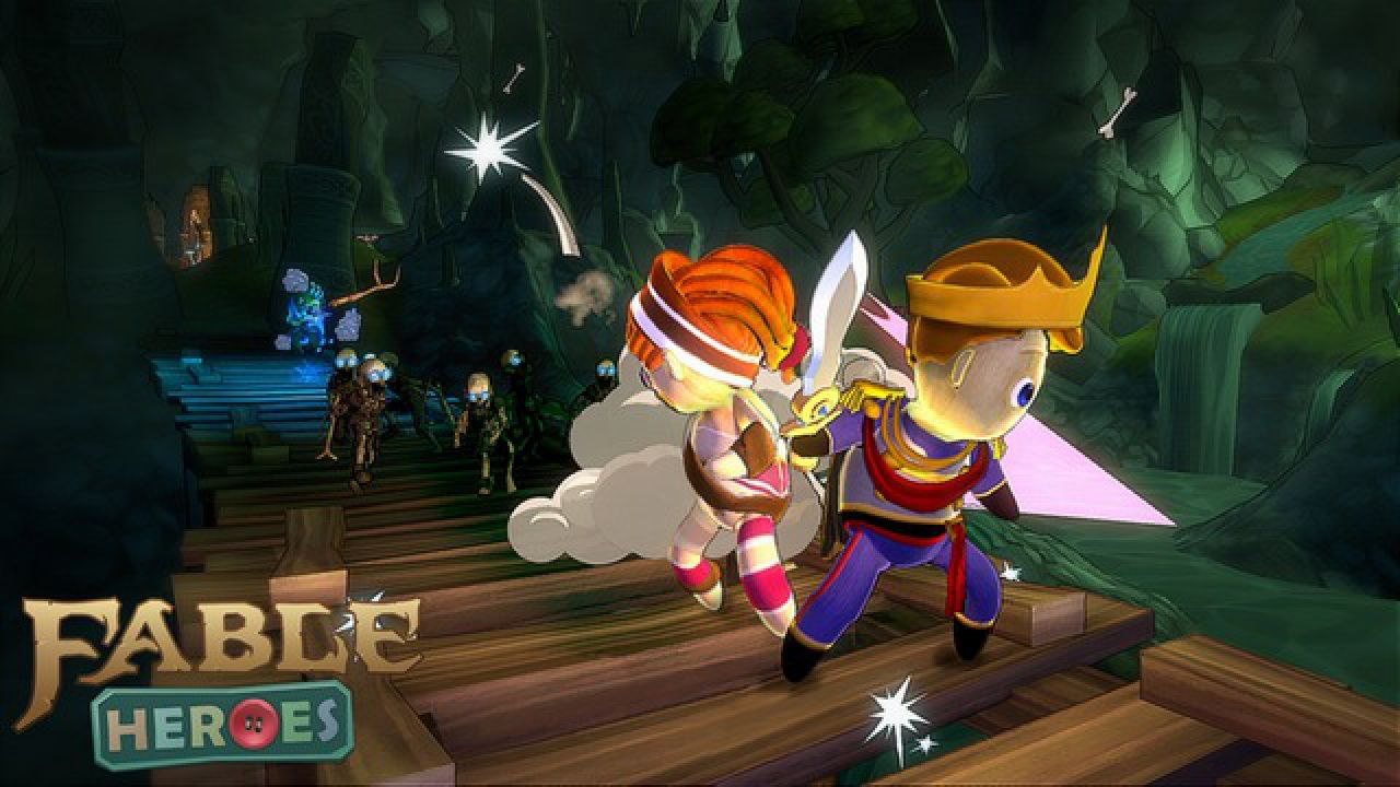 hands on Fable Heroes