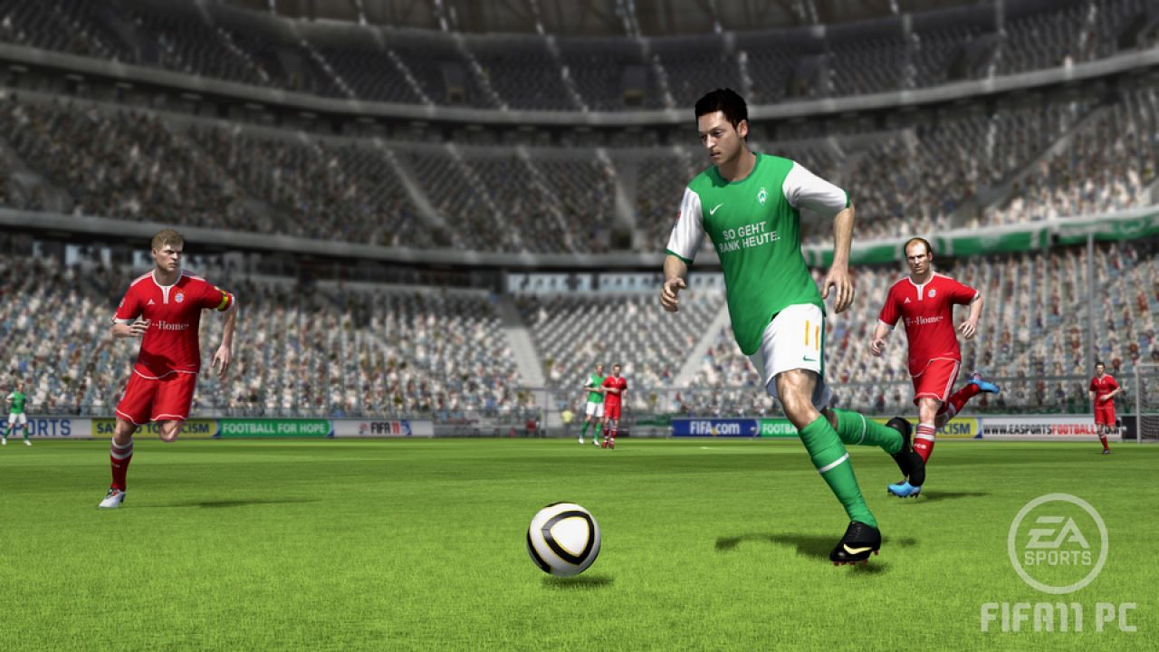 hands on FIFA 11