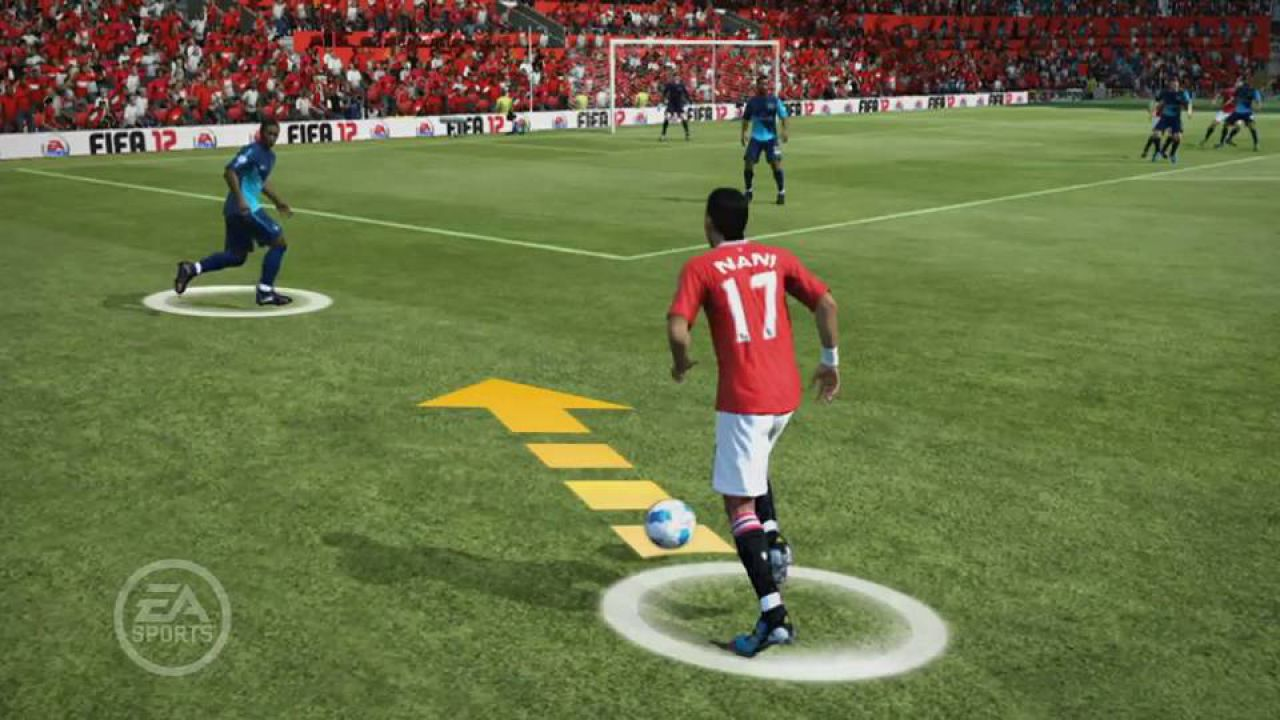 hands on FIFA 12