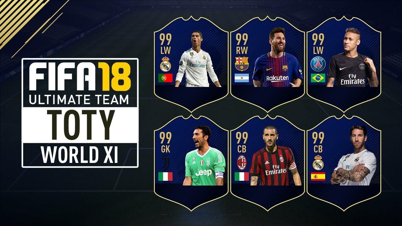 speciale FIFA 18 Ultimate Team: tutto quello che c'è da sapere sui TOTY