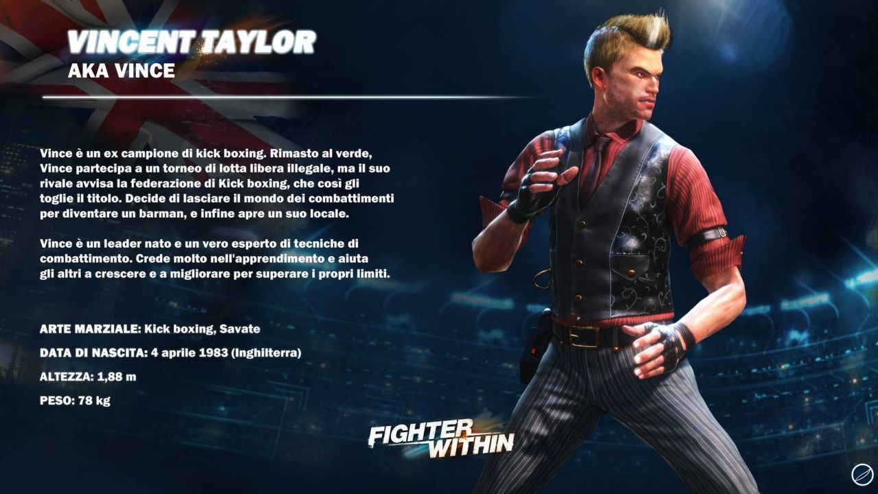 recensione Fighter Within