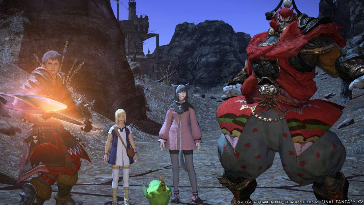 hands on Final Fantasy XIV: A Realm Reborn