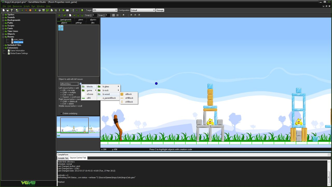 speciale Game Maker Studio