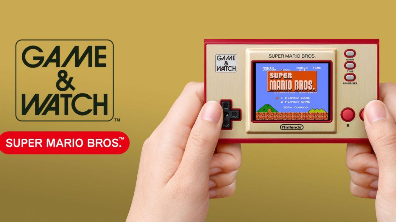 recensione Game & Watch Super Mario Bros Recensione: un tuffo negli anni '80