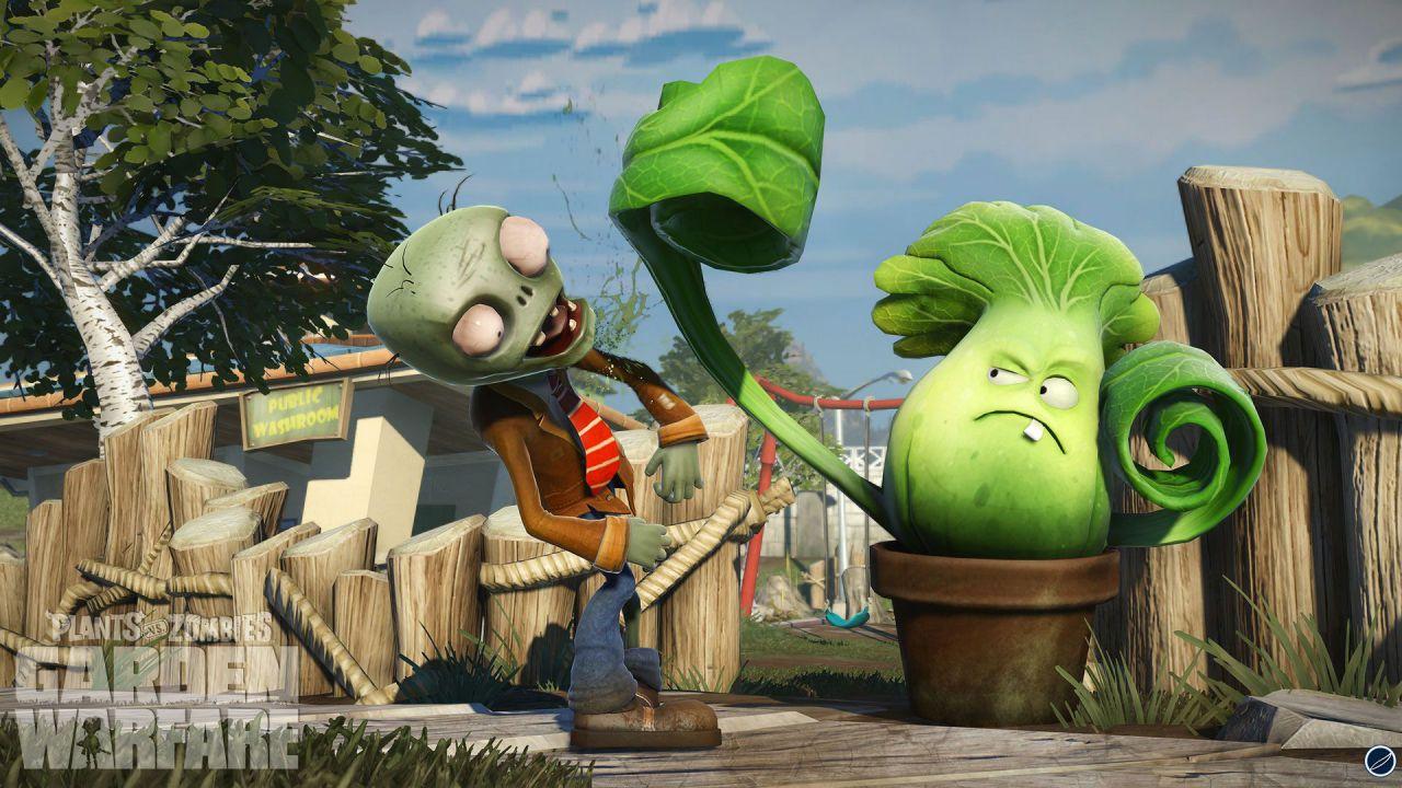 hands on Garden Warfare: Plants vs Zombies