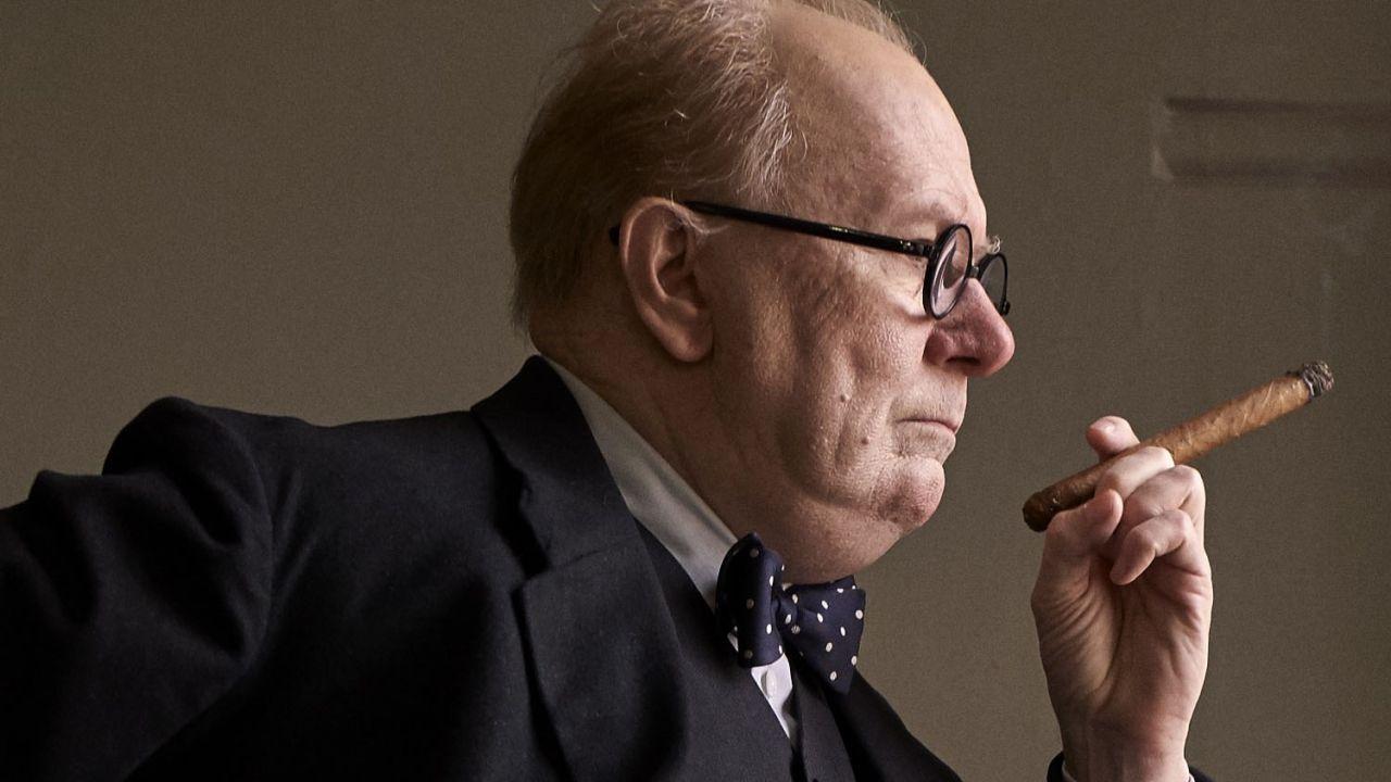 speciale Gary Oldman mette le mani sull'Oscar con il suo Winston Churchill
