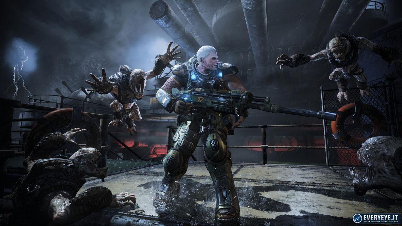 hands on Gears of War: Judgment
