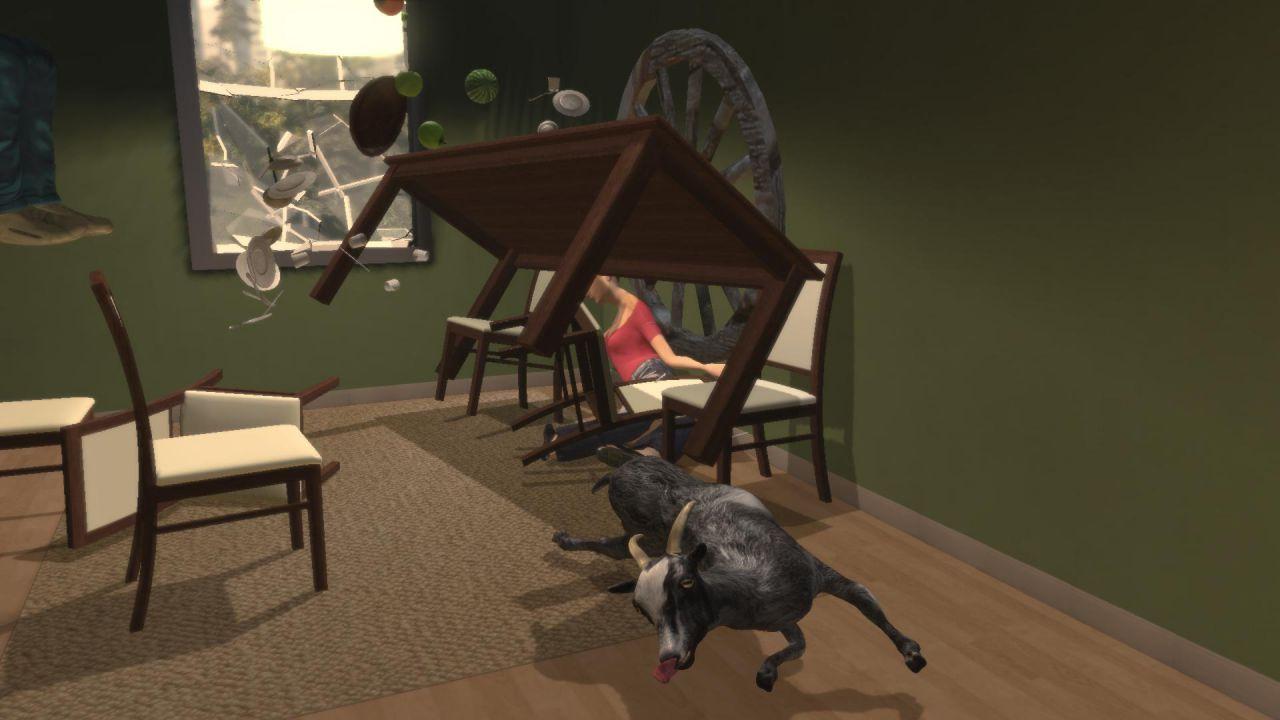 recensione Goat Simulator