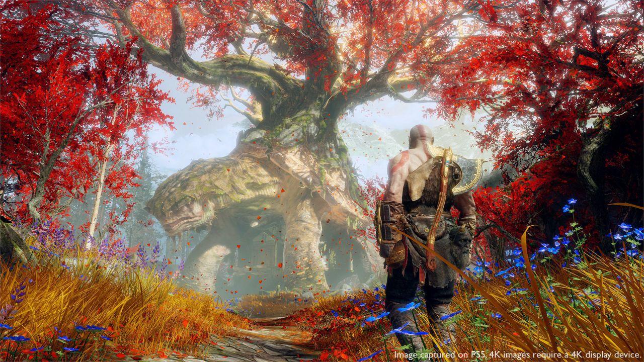 speciale God of War su PS5: l'avventura di Kratos e Atreus in 4K e 60fps