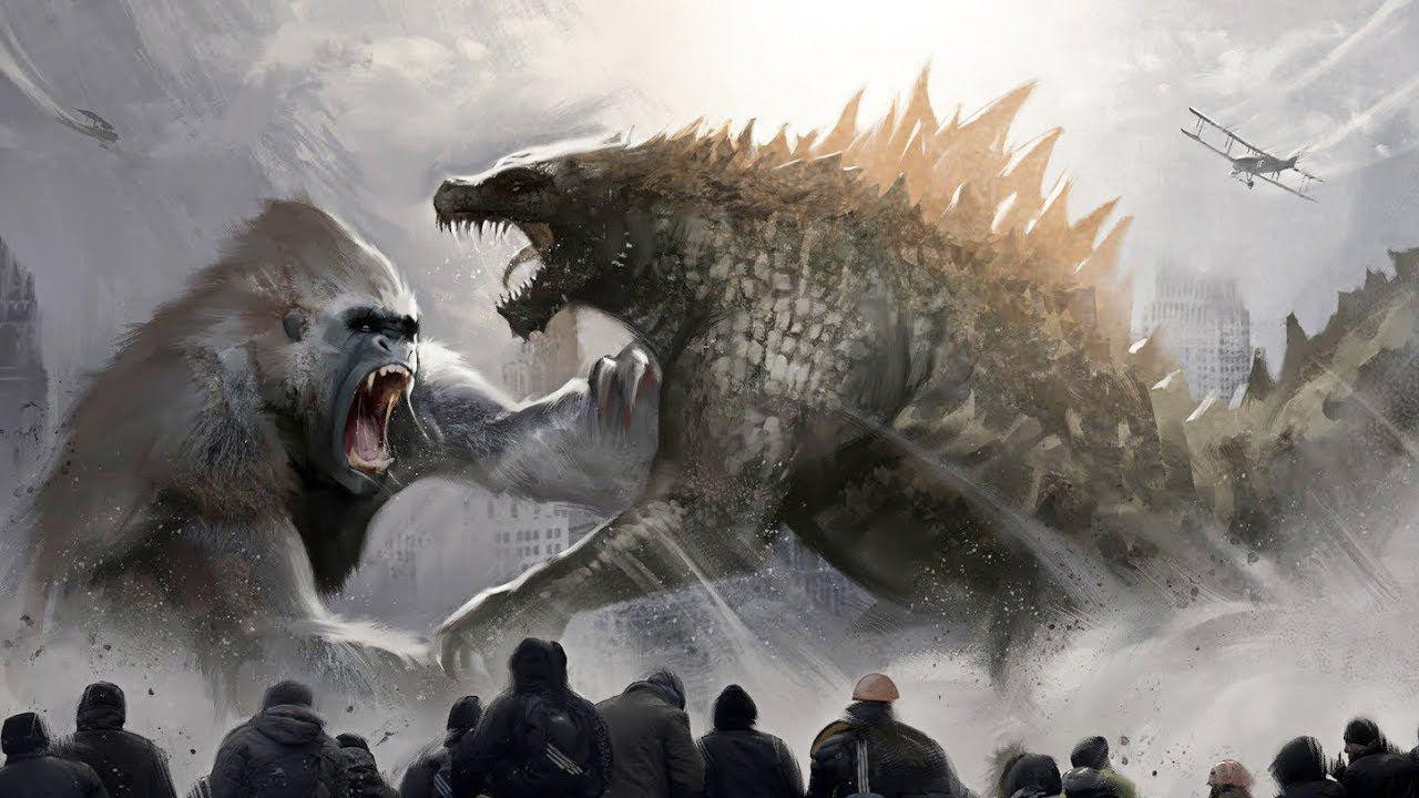Godzilla vs Kong, arriva un primo artwork di dimensioni epiche: parliamone