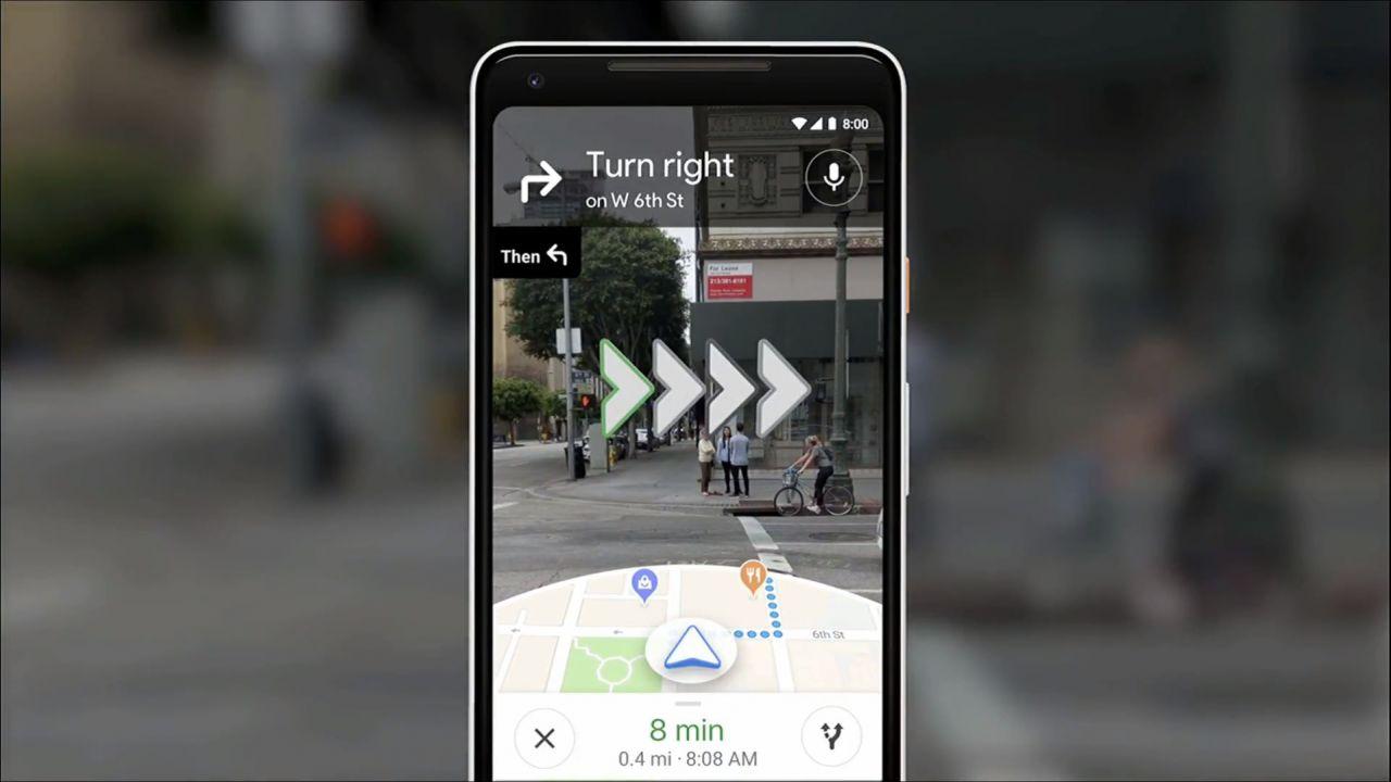 speciale Google Maps: Il futuro è nella realtà aumentata