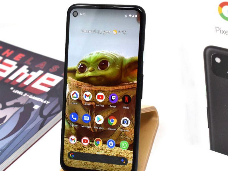 Google Pixel 4a Recensione: Android stock, compattezza e tanta fluidità